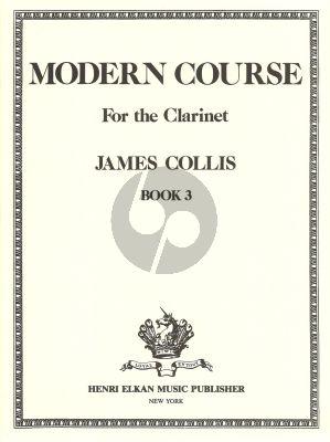Collis Modern Course Volume 3 Clarinet