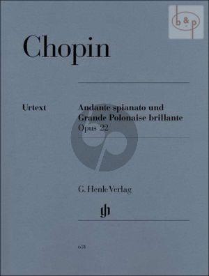 Andante Spianato und Grande Polonaise Brillante Op.22