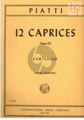 12 Caprices Op.25