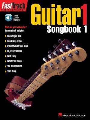 Fast Track Guitar Vol.1 Songbook (Bk-Cd)
