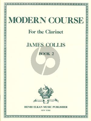 Collis Modern Course Volume 2 Clarinet