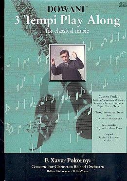 Pokorny Concerto B-flat major Clarinet (Solo Part[Bb]-CD) (Dowani)