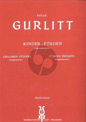 Gurlitt Kinder Etudes Piano