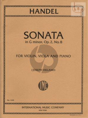 Sonata g-minor Op.2 No.8