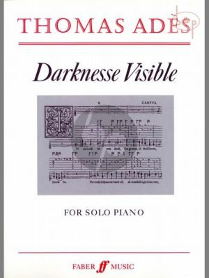 Darkness Visible for Piano