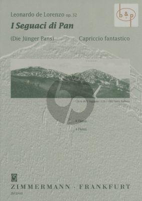 I Seguaci di Pan Op.32 (4 Flutes)