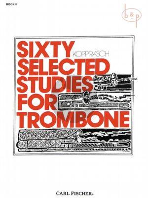 60 selected Studies for Trombone Vol.2