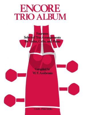 Encore Trio Album violin-cello-piano