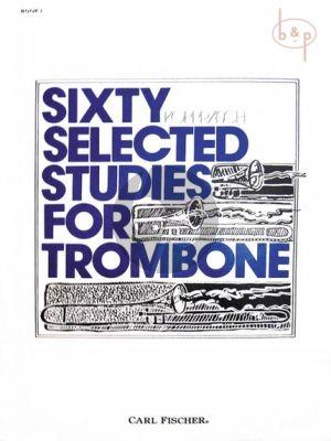60 selected Studies for Trombone Vol.1