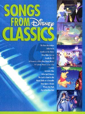 Songs from Disney Classics Easy Piano