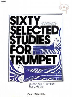 60 selected Studies for Trumpet Vol.1