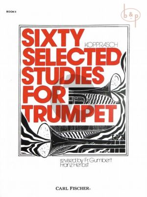 60 selected Studies for Trumpet Vol.2