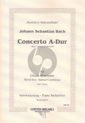 Bach Concerto A-major BWV 1055A Oboe d'Amore-Piano