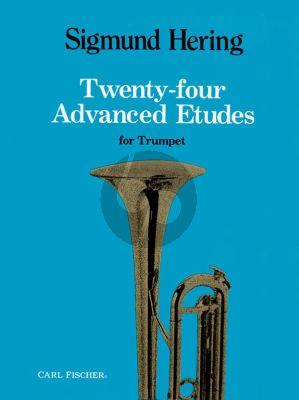Hering 24 Advanced Etudes for Trumpet