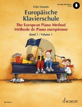 Emonts Europaische Klavierschule Vol.1 (Bk-Cd)