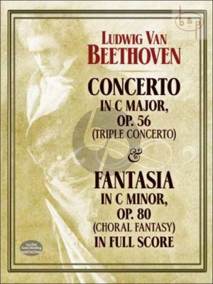 Triple Concerto Op.56 and Fantasy c-minor Op.80