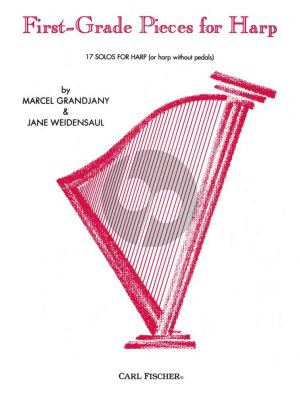 Grandjany First Grade Pieces for Harp (17 Solos) (with Jane Weidensaul)