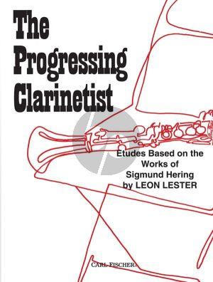 Lester Progressing Clarinettist (Studies based on the Works of Sigmund Hering)