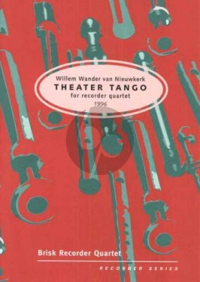 Nieuwkerk Theater Tango (1996) (ATBB) (Score/Parts)