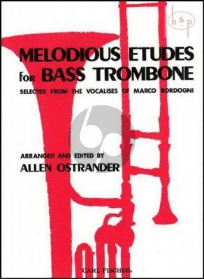 Melodious Studies for Basstrombone