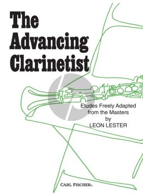 Lester Advancing Clarinettist (33 Composition Freely Adapted from the Masters)