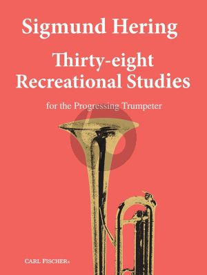 Hering 38 Recreational Studies for the progressing Trumpeter