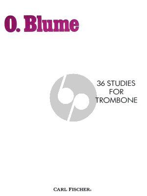 Blume 36 Studies (Trombone Bass Clef) (ed. Reginald Fink)