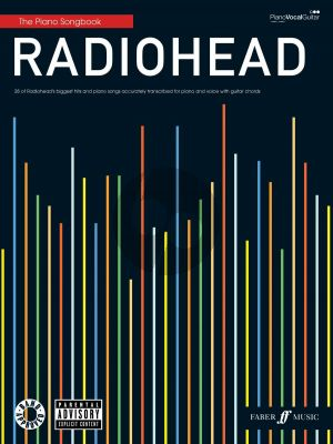 Radiohead - Piano Songbook Piano-Vocal-Guitar