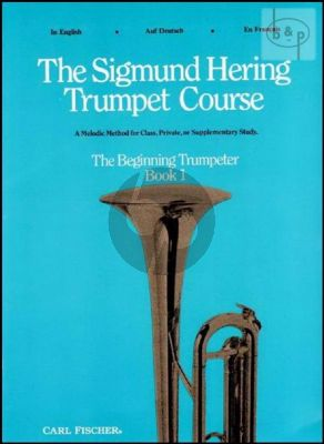 Trumpet Course Vol.1 The Beginning Trumpeter