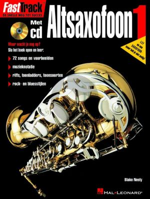 Neely FastTrack 1 Altsaxofoon (Bk-Cd) (Dutch)