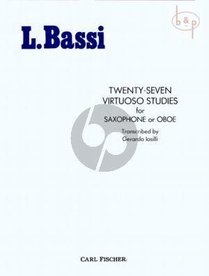 27 Virtuoso Studies for Saxophone or Oboe