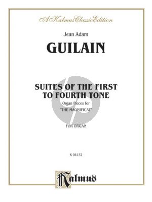 Guilain Suites of the First to Fourt Tone Organ