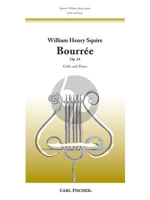 Squire Bourree Op.24 Violoncello-Piano