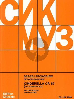 Prokofieff Cinderella (Aschenbrödel) Op.87 Klavierpartitur (Ballett in 3 Akten)
