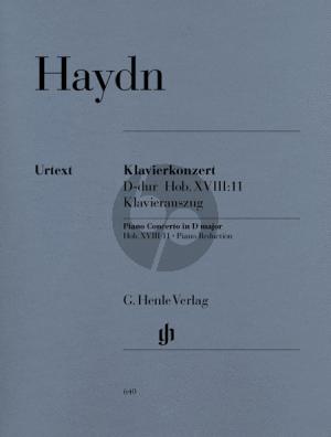 Haydn Concerto D-major Hob.XVIII:11 (Piano-Orch.) (piano red.) (edited by Wackernagel) (Cadenzas by Sonja Gerlach) (Henle-Urtext)