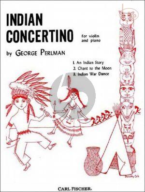 Perlman Indian Concertino Violin and Piano