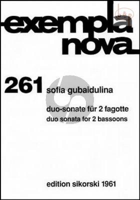 Duo-Sonate 2 Fagotten