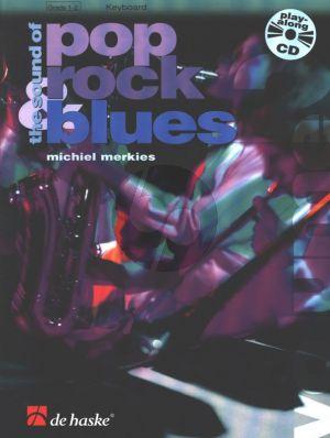 Merkies Sound of Pop-Rock-Blues Vol.2 Keyboard (Bk-Cd)