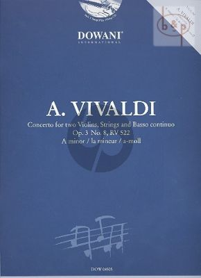Concerto a-minor Op.3 No.8 RV 522 (2 Violins)