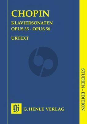 Chopin Sonaten (Op.35-58) Klavier Studienausgabe (Ewald Zimmermann)