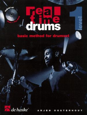 Oosterhout Real Time Drums Level 1 Methode (Bk-Cd)