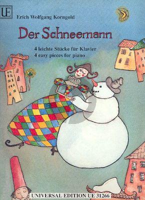 Korngold Der Schneemann (4 leichte Stucke) Klavier