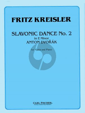 Slavonic Dance Op.46 No.2 E minor (Kreisler)