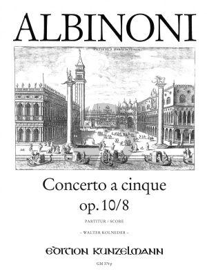 Concerto g-moll Op.10 / 8 Violine-Streicher-BC