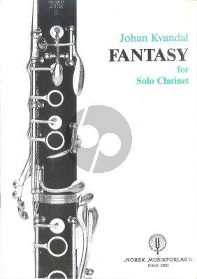 Kvandal Fantasy Op.68 No.2 Clarinet solo