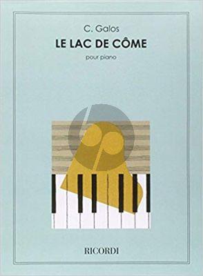 Galas Le Lac de Come (6e Nocturne) Piano solo