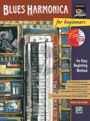 Fletcher Blues Harmonica for Beginners (Bk-Cd)