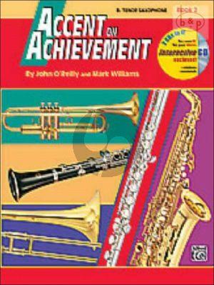Accent on Achievement Vol.2 Bb Tenor Sax