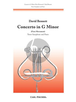 Concerto g-minor Tenor Saxophone and Piano