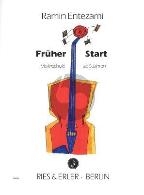 Entezami Fruher Start (Violinschule ab 5 Jahren)